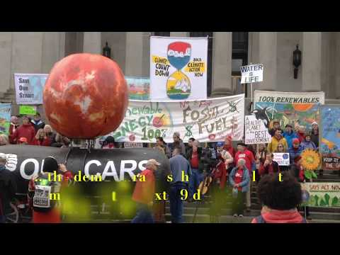 Climate Activists DISRUPT Opening Day of Washington State Legislature
