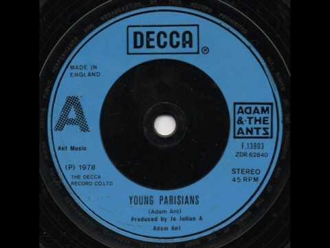 Adam & The Ants Young Parisians