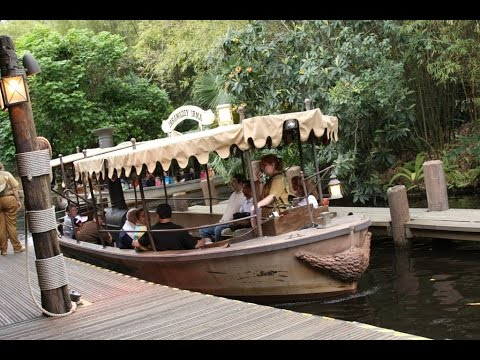Jungle Cruise Complete Experience HD Magic Kingdom Walt Disney World