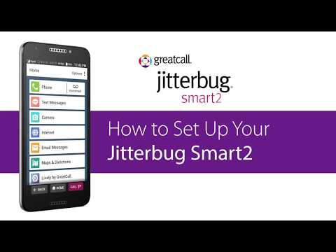 How to Use Your Home Screen - Jitterbug Smart2 - YouTube