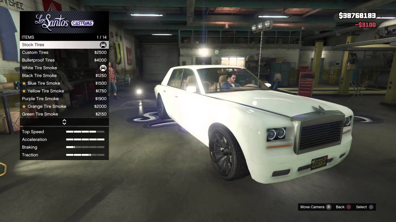 GTA 5 Enus Super Diamond Custom - YouTube