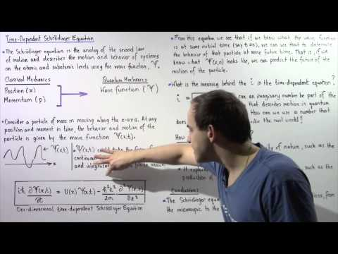Wave Function and Schrodinger's Equation