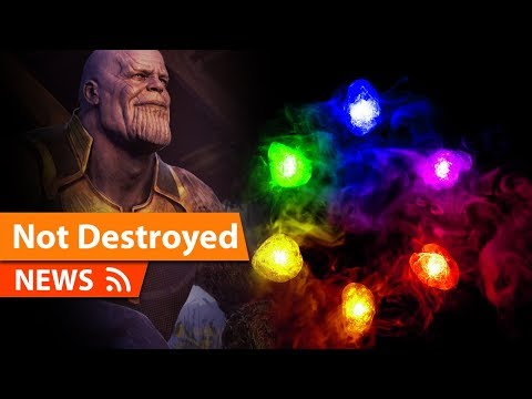 Infinity Stones WERE NOT Destroyed in Avengers Endgame