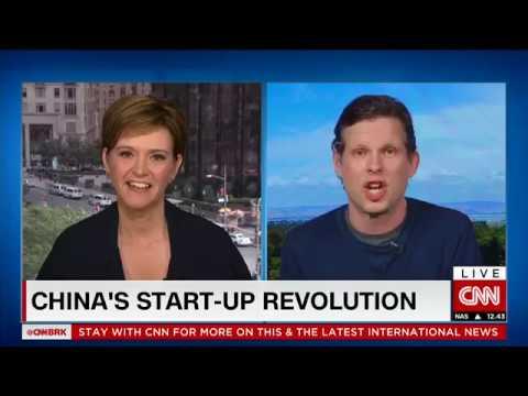 CNN Interview: China will be the next Country for Innovation & Startups   CNN采访:中国将成为下一个国际创新与创业国家