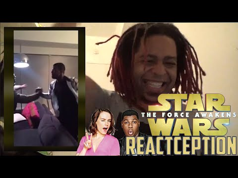 Daisy Ridley & John Boyega's Full Reaction to the Star Wars Trailer - REACTCEPTION