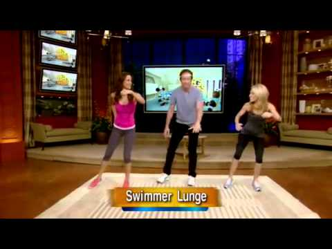 David Duchovny  - LIVE! with Kelly - Fitness Week