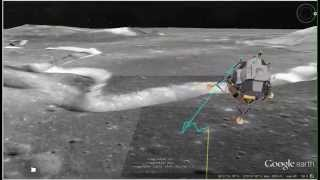 Apollo 15 Landing site tour