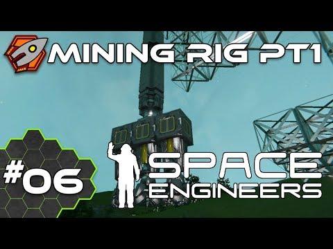 Mining Rig - Space Engineers #06