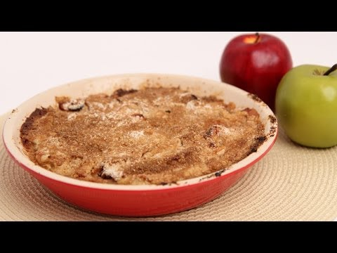 Apple Cranberry Crumble Recipe - Laura Vitale - Laura in the Kitchen Episode 686