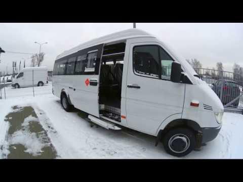 Туристический автобус Мерседес Спринтер Классик 411/413 нестандартной комплектации
