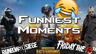 Funniest Moments of the Month (R6, PUBG, F13)