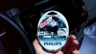 лампы Philips X-tremeVision +130 Н4