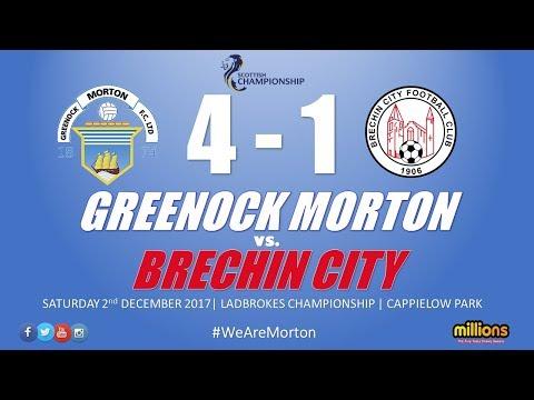 Match Highlights: Morton 4-1 Brechin City (Saturday 2 December 2017)