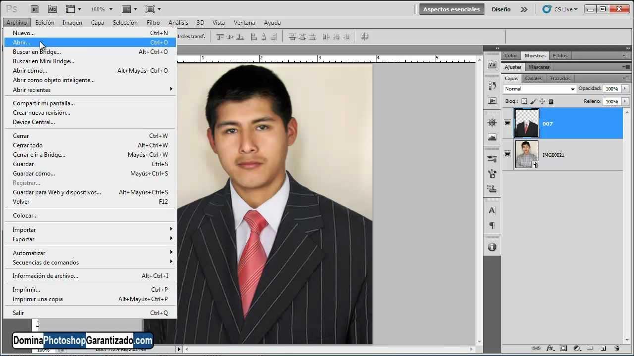 Cómo cambiar el traje de una persona - Tutorial de Photoshop - YouTube
