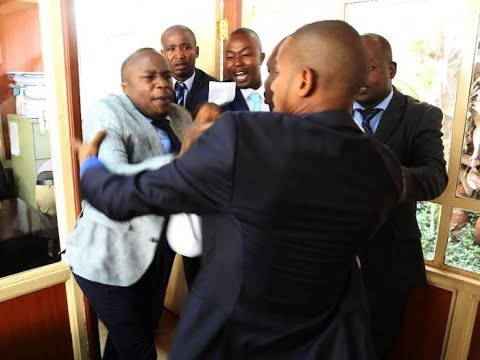 Details emerge over Jaguar and Babu Owino fight