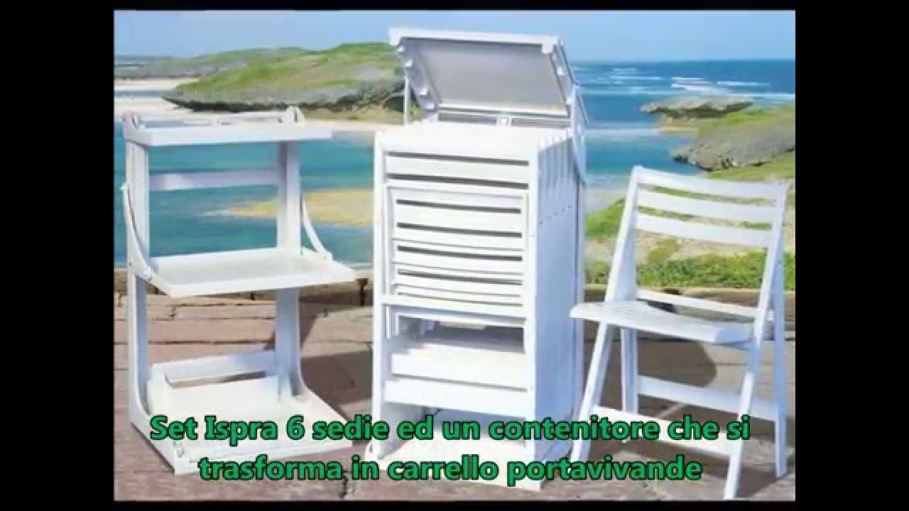 Mobili da giardino ed arredamenti da esterno in resina for Regalo mobili da giardino