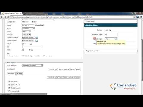 Joomla Dersleri | Sp-Tab (sekme) Modülü Kullanımı