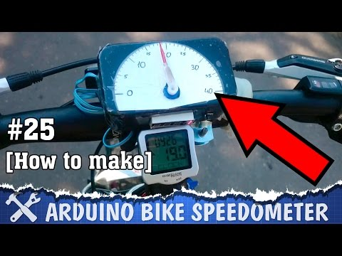 Thumbnail: DIY bike speedometer Arduino