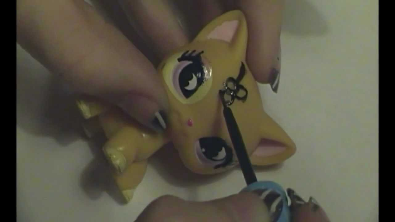 How To Make A Lps Custom Youtube