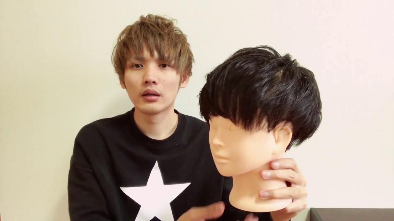 メンズ髪型✂ 耳出しマッシュショートのツーブロック カットの仕方✴ 沖縄県美容室メンズ