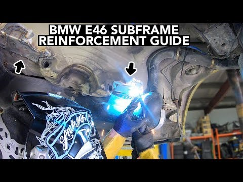 Your E46 BMW Has A Cracked Subframe! Here's How You Fix It