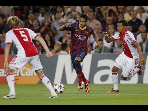 Neymar Vs Ajax Amsterdam Home (18/09/2013)