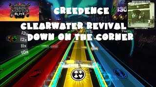 Creedence Clearwater Revival - Down on the Corner - @RockBand Blitz Playthrough (5 Gold Stars)