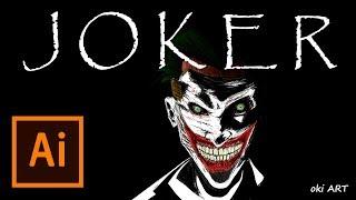 Drawing The Joker [Illustrator]