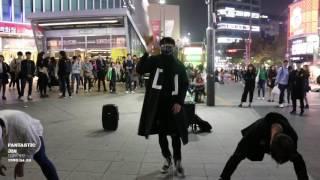 161014 디오비 DOB Sinchon 신촌공연 《EXO - Monster》