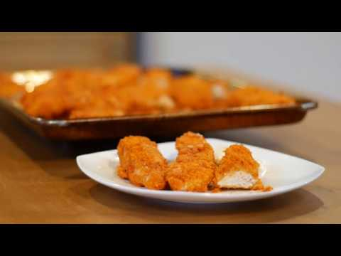 How to make grilled buffalo chicken strips