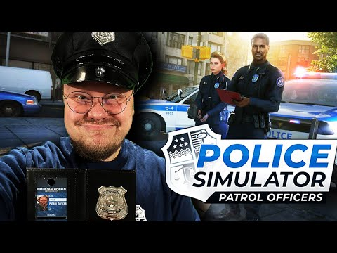POLIZIST KALLE auf STREIFE 🚨   Police Simulator: Patrol Officers