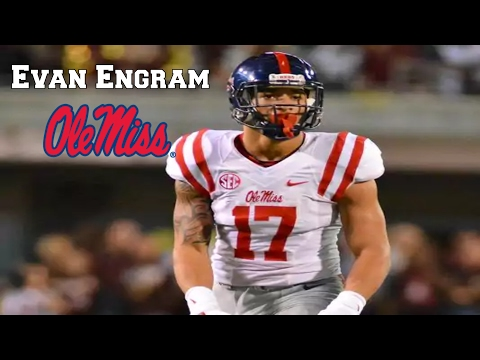 Evan Engram || Best Receiving Tight End || NFL Draft Class 2017