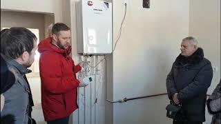 видео Котлы отопления газовые Навьен (Navien)
