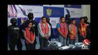 SSP presenta a banda de delincuentes de Xalapa