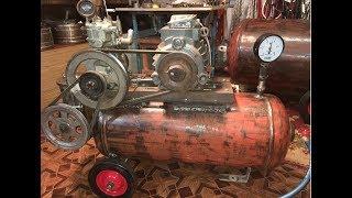 Компрессор Зил - 130 + насос Гура для системы смазки - замер производительности.