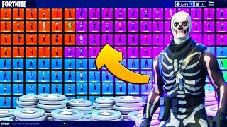 RAREST $2000 FORTNITE SKIN LOCKER TOUR | Fortnite Battle Royale