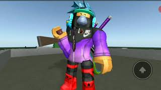 Playing Roblox (bullet hell)
