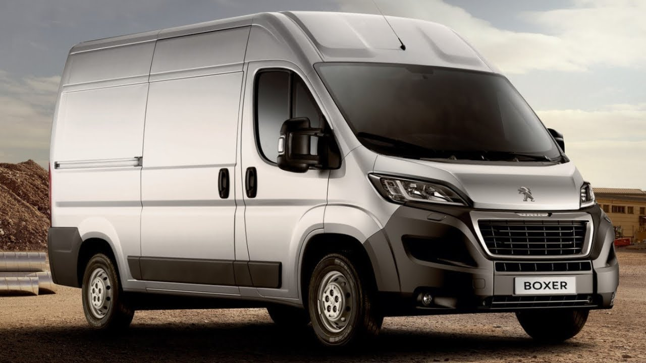2020 Peugeot Boxer Van Introducing