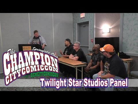 Twilight Star Studios Panel - Champion City Comic Con 2016