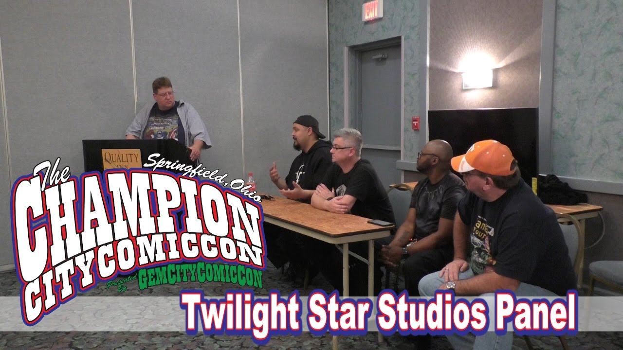 Twilight Star Studios Panel – Champion City Comic Con 2016