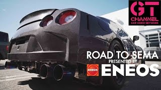 video thumbnail of Full Carbon GT-R by Bulletproof Auto - Road to SEMA 2016 by ENEOS