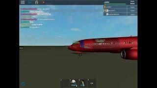 Roblox Air crash IOM airlines