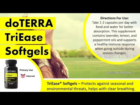 Best doTERRA TriEase Softgels Review