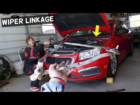 CHEVROLET CRUZE WINDSHIELD WIPERS LINKAGE REPLACEMENT REMOVAL