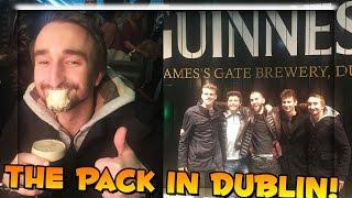 GUINNESS FACTORY TOUR w/ The Pack (Dublin Ireland Vlog)
