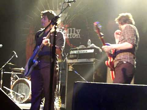 Ike Reilly introducing band at First Ave 2010