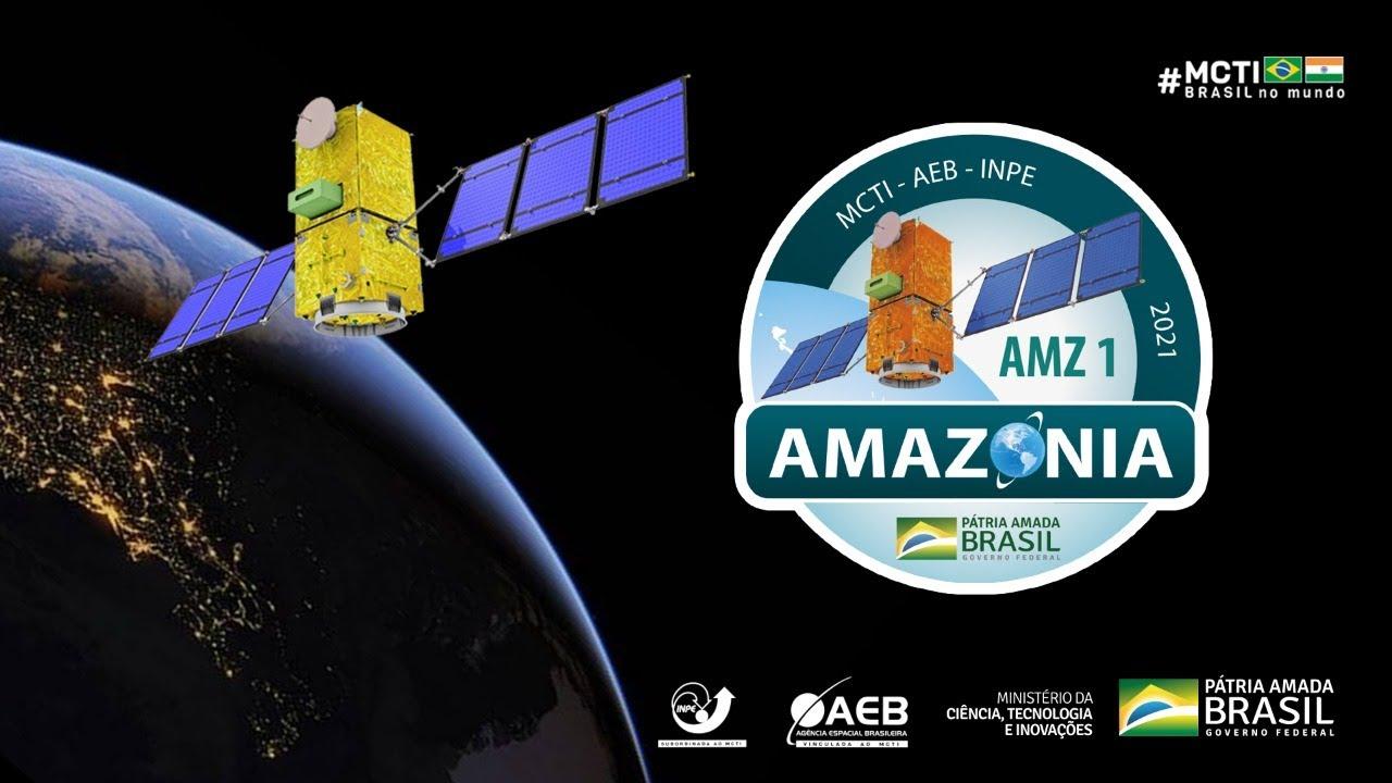 Satélite brasileiro Amazonia-1 é lançado com sucesso e já está em órbita