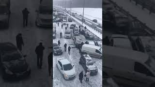 Смотреть видео ДТП ТРАССА М 2, ТУЛА МОСКВА онлайн