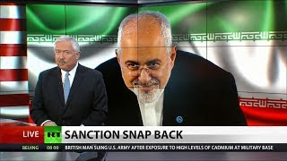 Iran Sanctions To Be Restored, Following US JCPOA Pullout