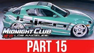 MIDNIGHT CLUB LOS ANGELES XBOX ONE Gameplay Walkthrough Part 15 - RX8 PINK SLIP